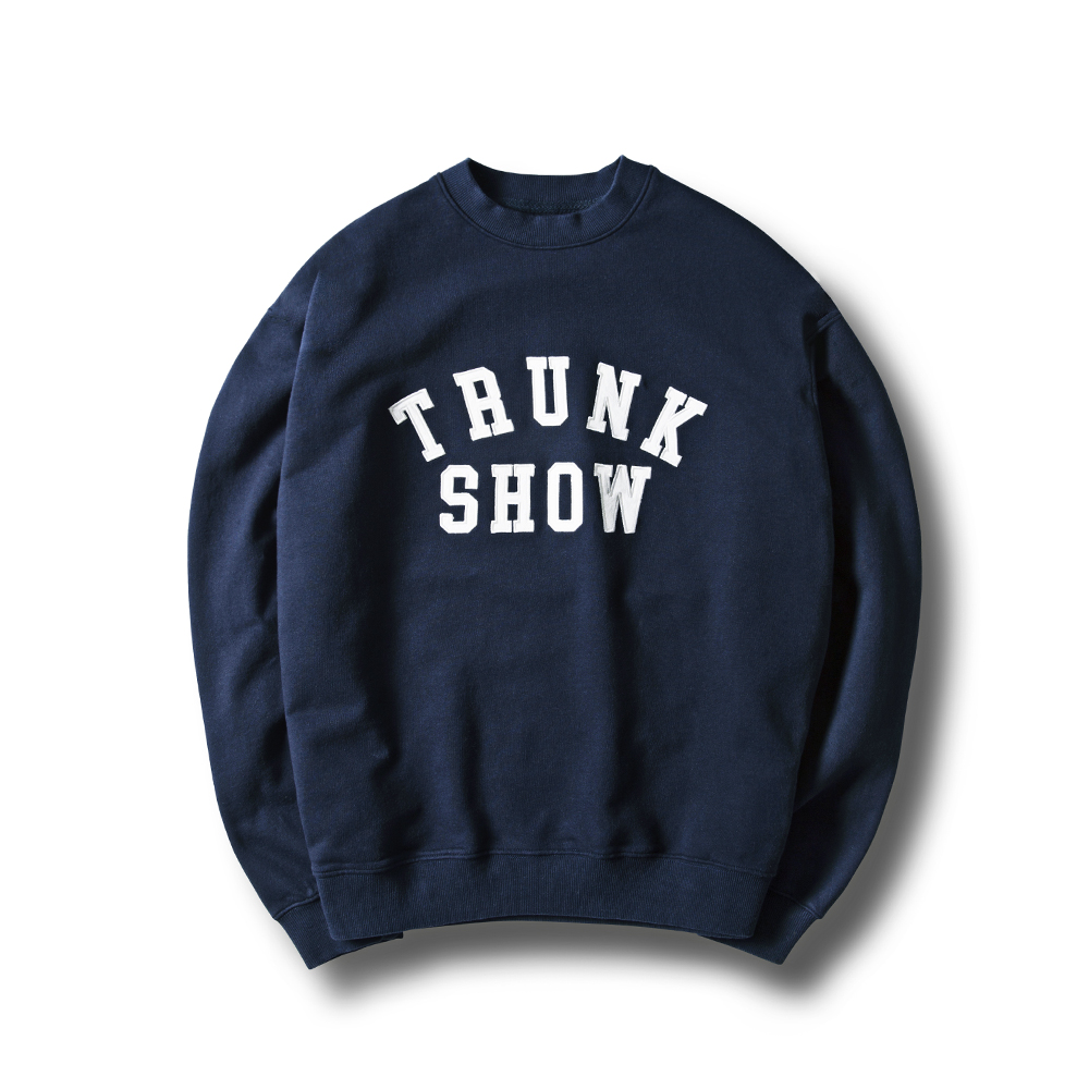 [ESFAI] TRUNK SHOW SWEAT SHIRTS (NAVY)