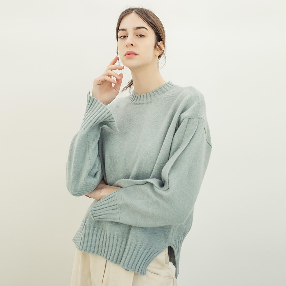 이모셔널 크루 넥 스웨터 MINT 니트