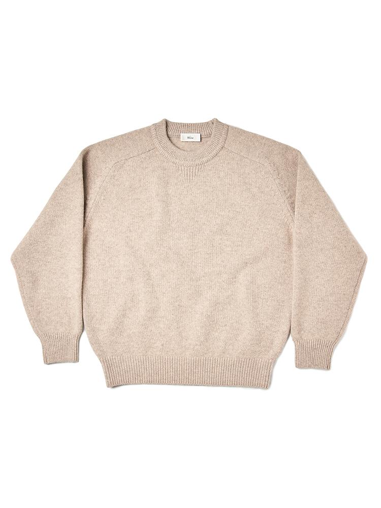 Choi_Crew-neck Knit Oatmeal
