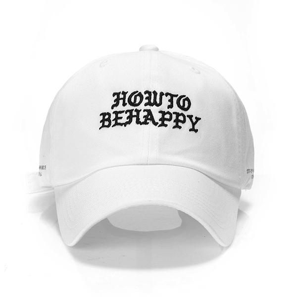 [유니온오브제] HOWTOBEHAPPY - WHITE
