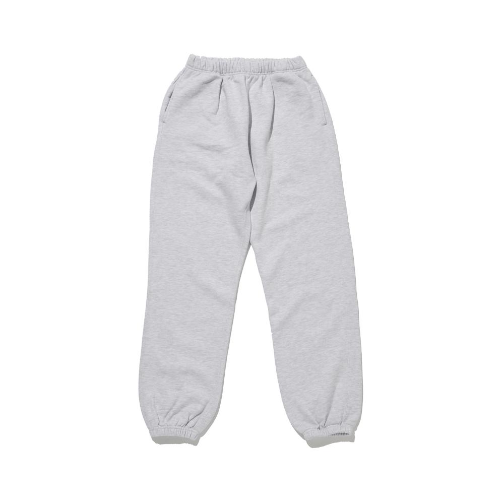 Cotton Sweat Pants (Heather Grey)