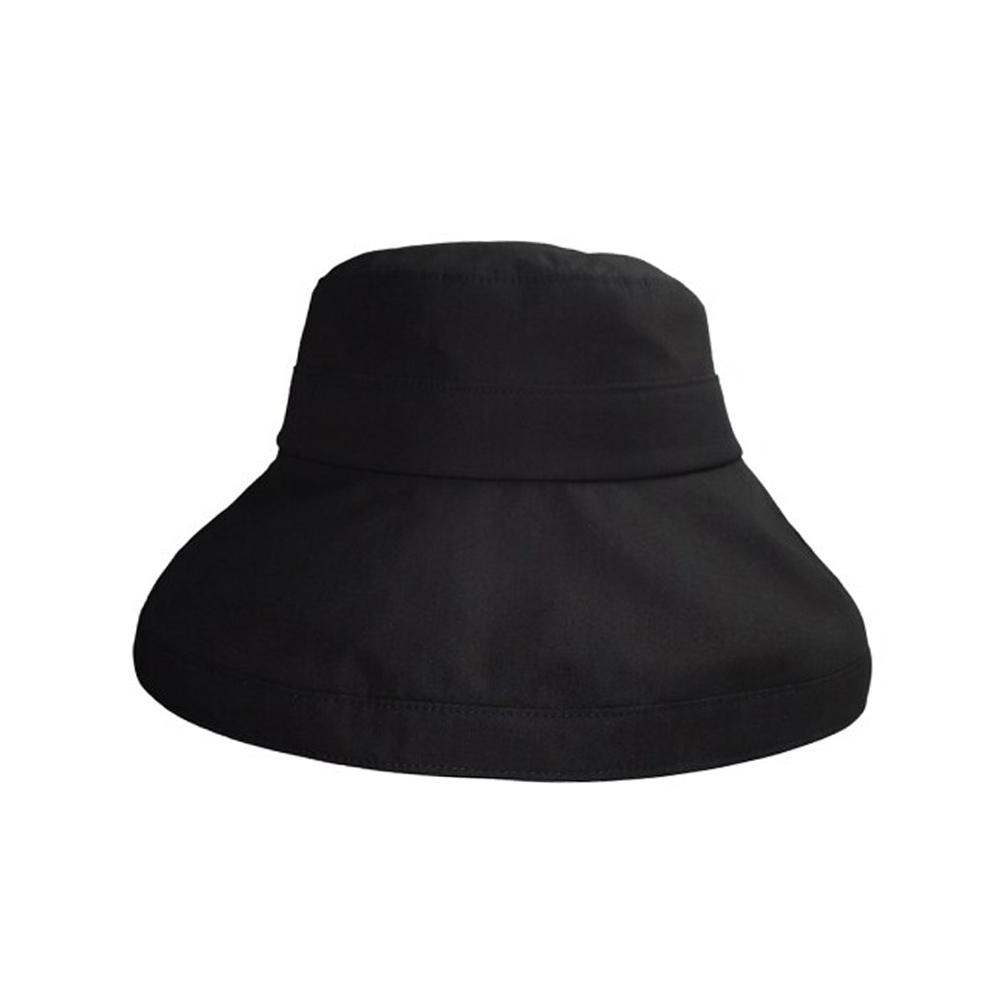[매드팩토리] cotton bucket hat  black