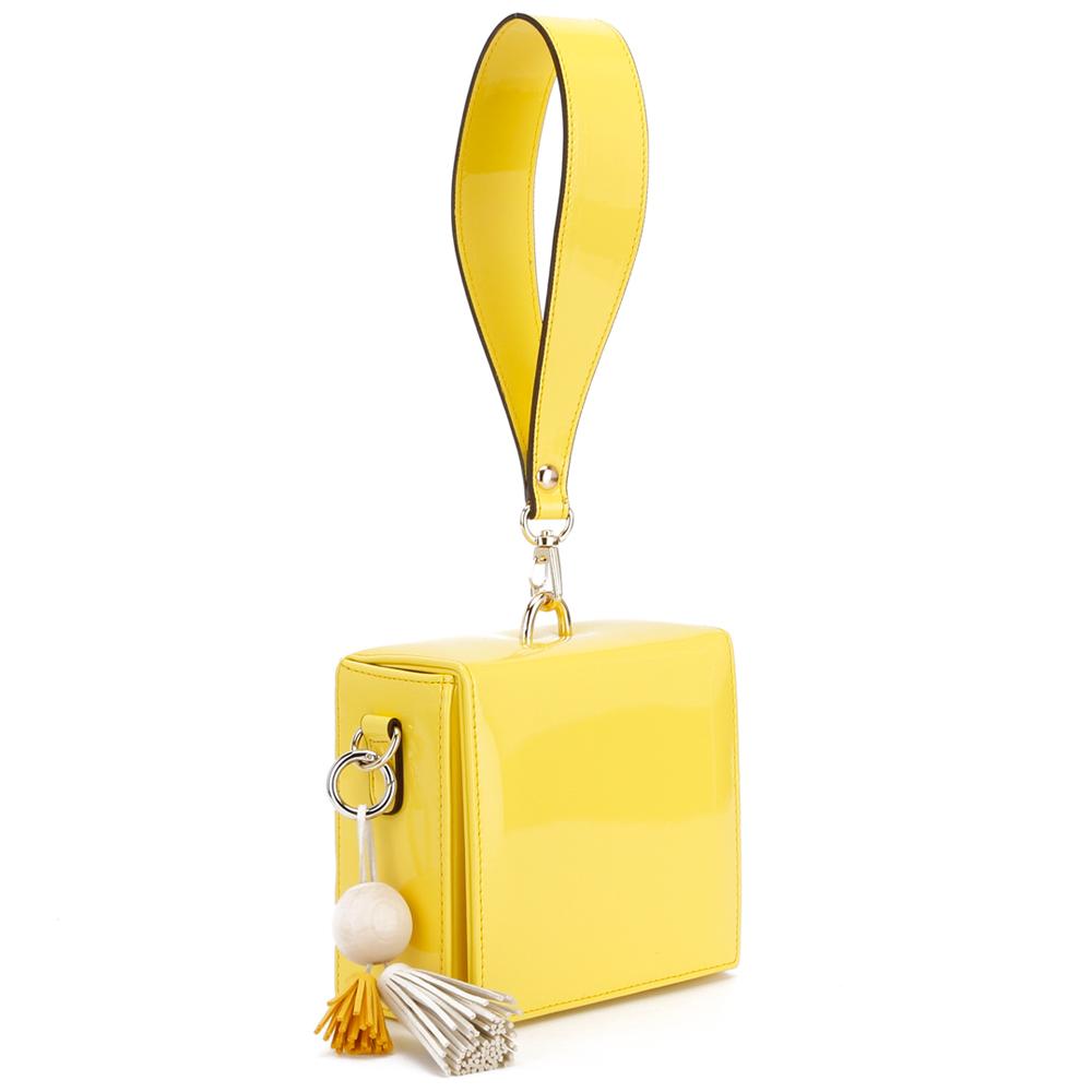 Block box Bag_M YELLOW