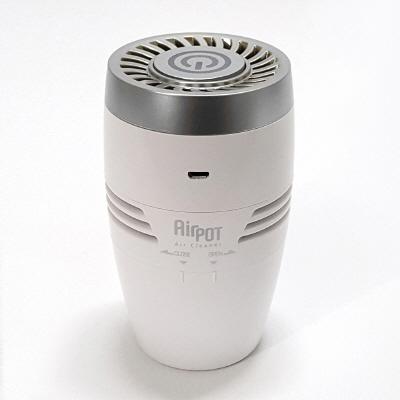 에어팟 차량 원룸 공기청정기 실버
